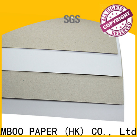 NEW BAMBOO PAPER industry-leading coated unbleached kraft paperboard bulk production for shoe boxes