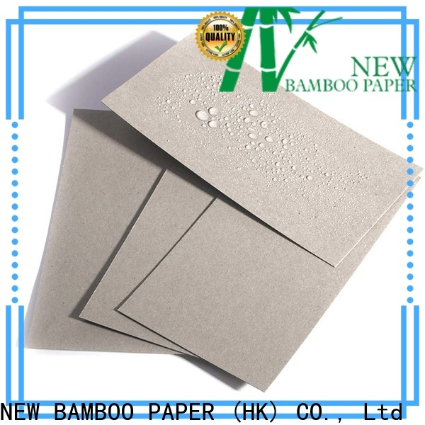 NEW BAMBOO PAPER double paper board products  supply for waterproof items