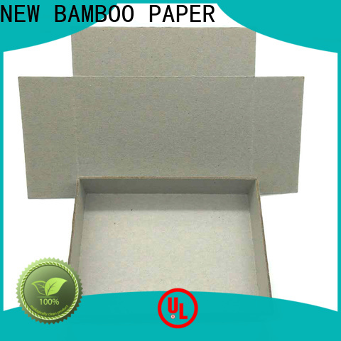 NEW BAMBOO PAPER grade hard paper board for wholesale for shirt accessories