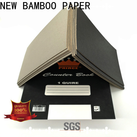 NEW BAMBOO PAPER newly black cardboard certifications for photo album