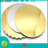 NEW BAMBOO PAPER new-arrival gold cake boards at discount for pastry packaging