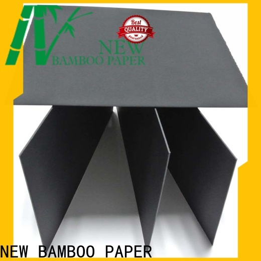 NEW BAMBOO PAPER recycled double wall corrugated cardboard from manufacturer for silk printing