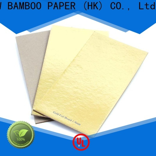 NEW BAMBOO PAPER goldensilver 11x14 cardboard sheets bulk production