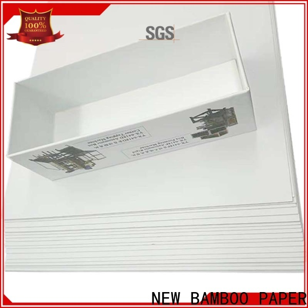 NEW BAMBOO PAPER new-arrival duplex paper board order now for cloth boxes