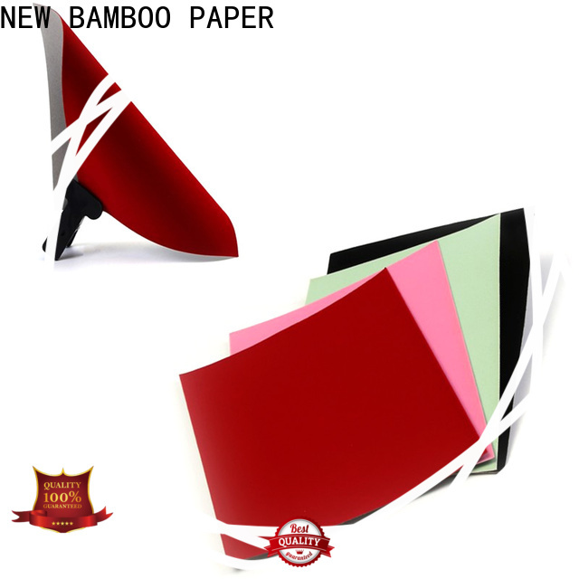 NEW BAMBOO PAPER cover large sheets of cardboard for sale effectively for decoration