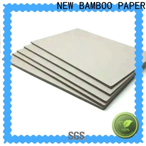 NEW BAMBOO PAPER good-package laminated cardboard for T-shirt inserts