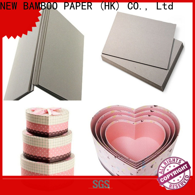 NEW BAMBOO PAPER nice 2mm grey board check now for packaging