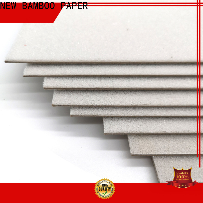 NEW BAMBOO PAPER coated foam core board 4x8 factory price for book covers