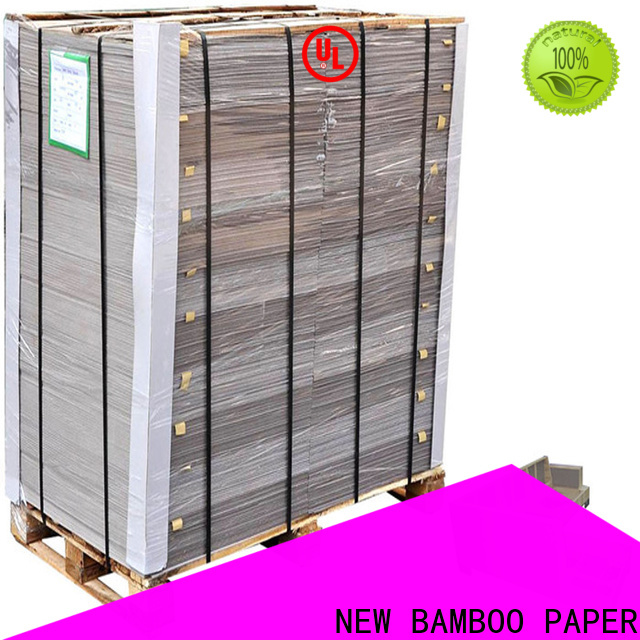 NEW BAMBOO PAPER desk grey cardboard sheets from manufacturer for arch files