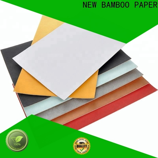 NEW BAMBOO PAPER industry-leading white cardboard sheets 48 x 96 for shoe boxes