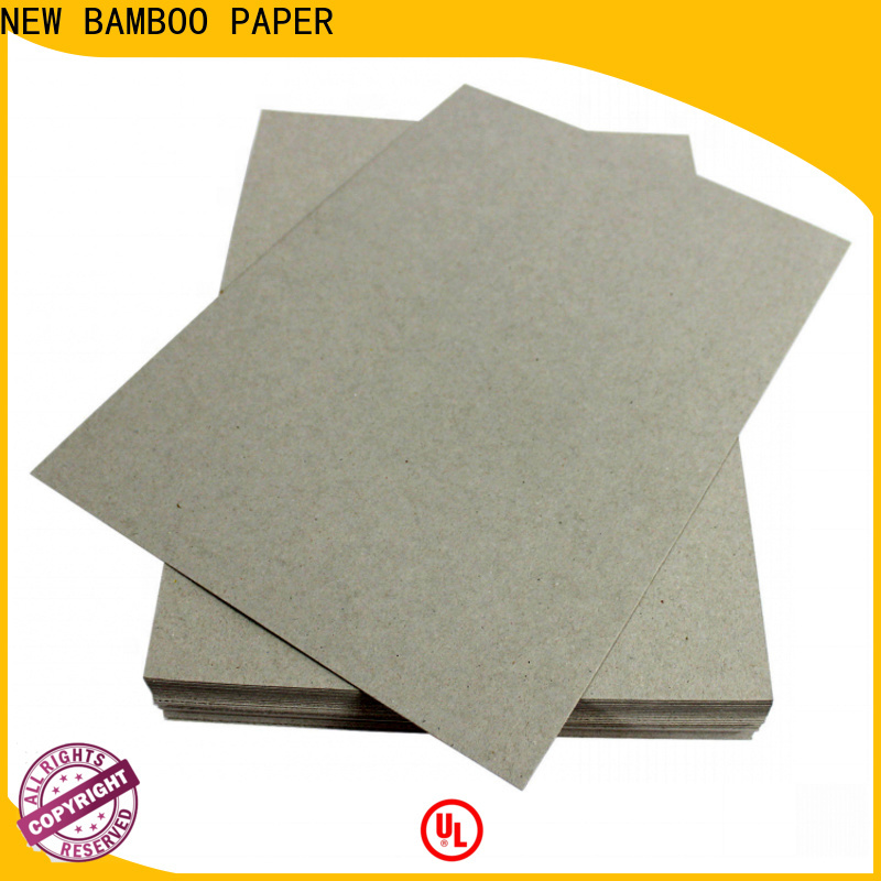 NEW BAMBOO PAPER fine- quality hard board paper factory price for hardcover books