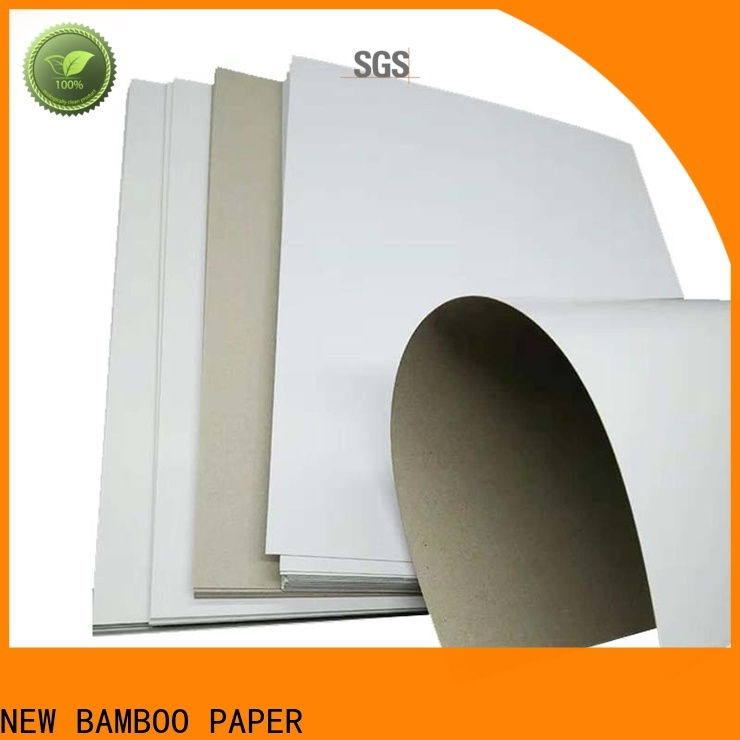 NEW BAMBOO PAPER excellent a4 white cardboard sheets from manufacturer for gift box binding