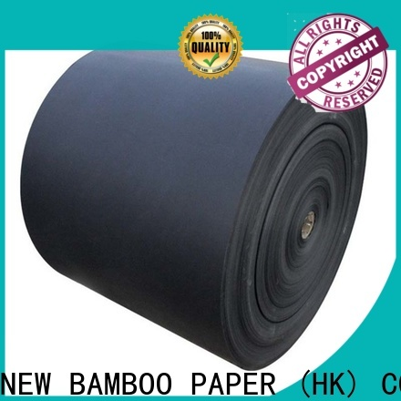 NEW BAMBOO PAPER industry-leading black cardboard paper long-term-use for photo album