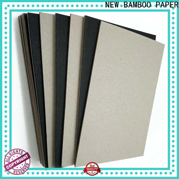 NEW BAMBOO PAPER fantastic  black chipboard sheets certifications for photo frame