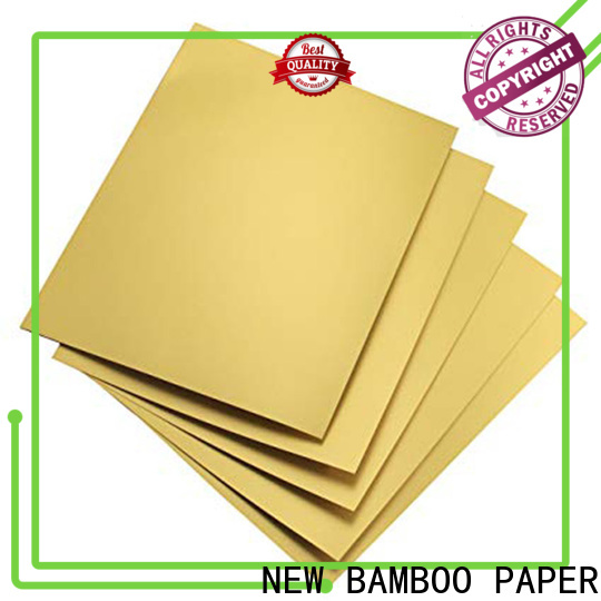custom metallic board paper recycled free design for dessert packaging