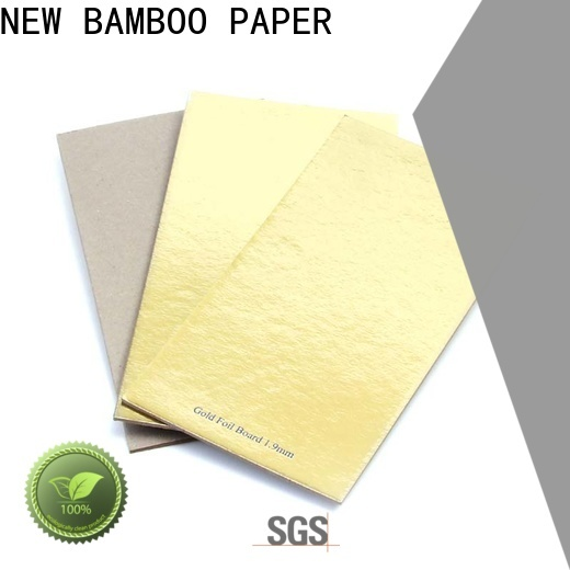 NEW BAMBOO PAPER thick carton board sheets bulk production for stationery