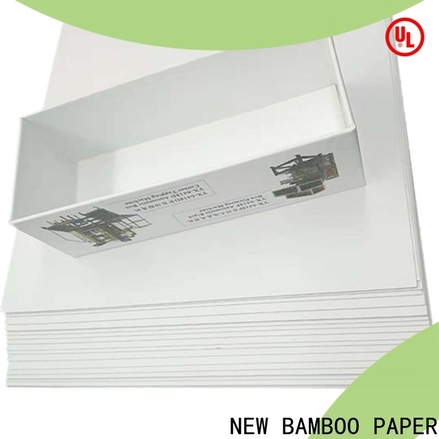 NEW BAMBOO PAPER coated duplex board gsm order now for printing industry