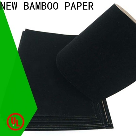 NEW BAMBOO PAPER excellent white flocked paper vendor for crafts