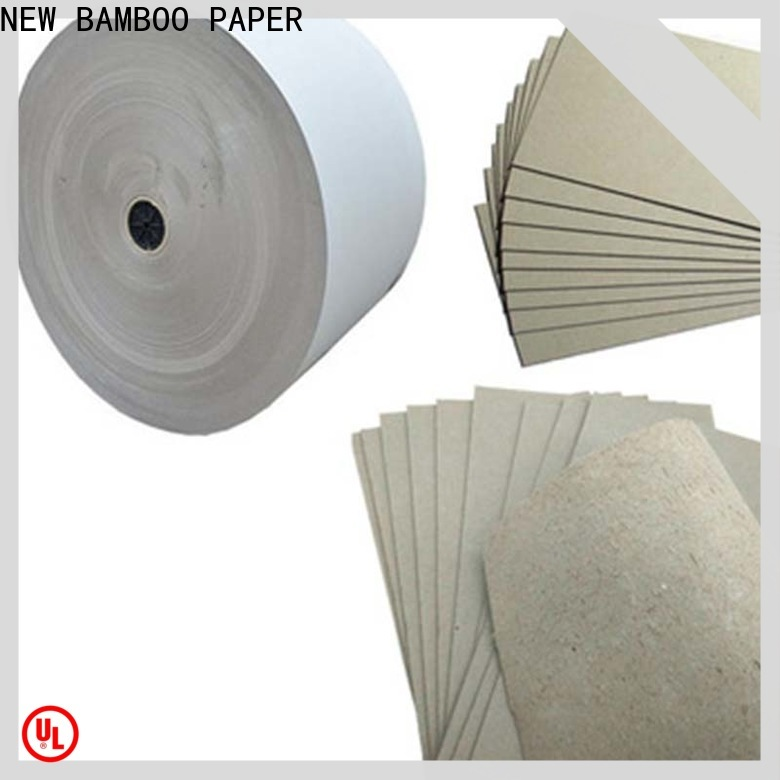 NEW BAMBOO PAPER first-rate grey paperboard from manufacturer for arch files