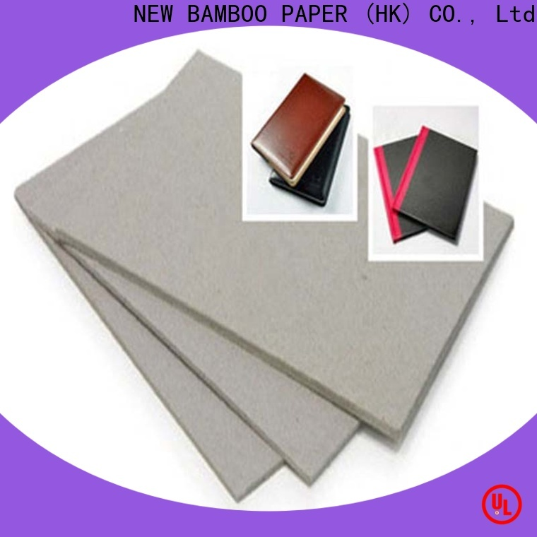 NEW BAMBOO PAPER resistance thick cardboard sheets from manufacturer for packaging