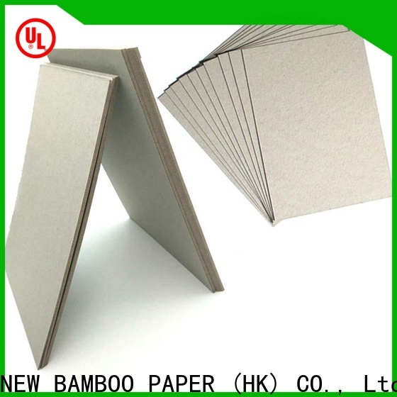 high-quality gray chipboard folding at discount for folder covers