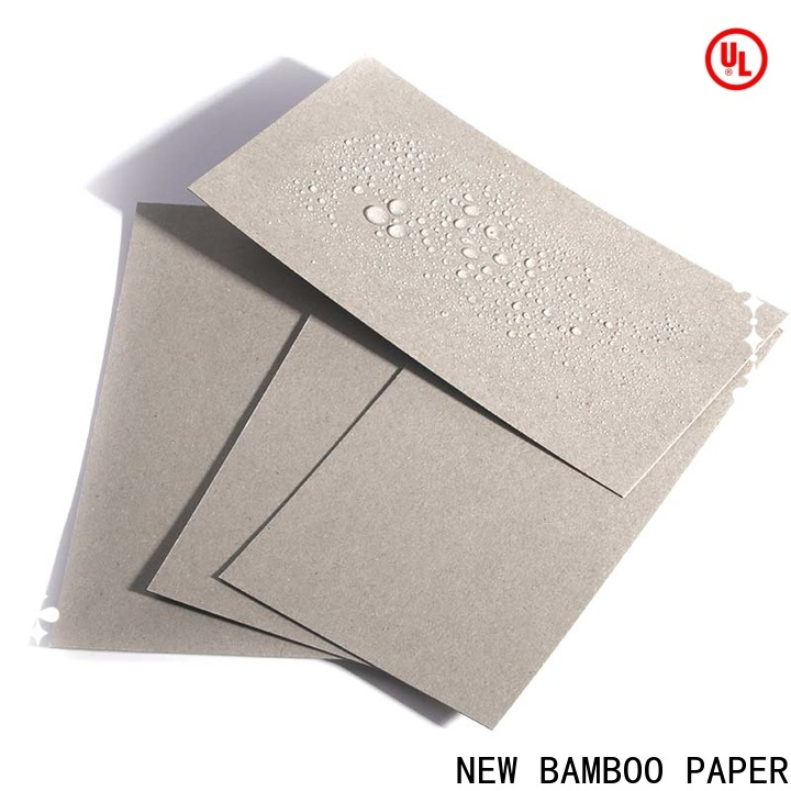 NEW BAMBOO PAPER moisture poly coated paperboard from manufacturer for sheds packaging