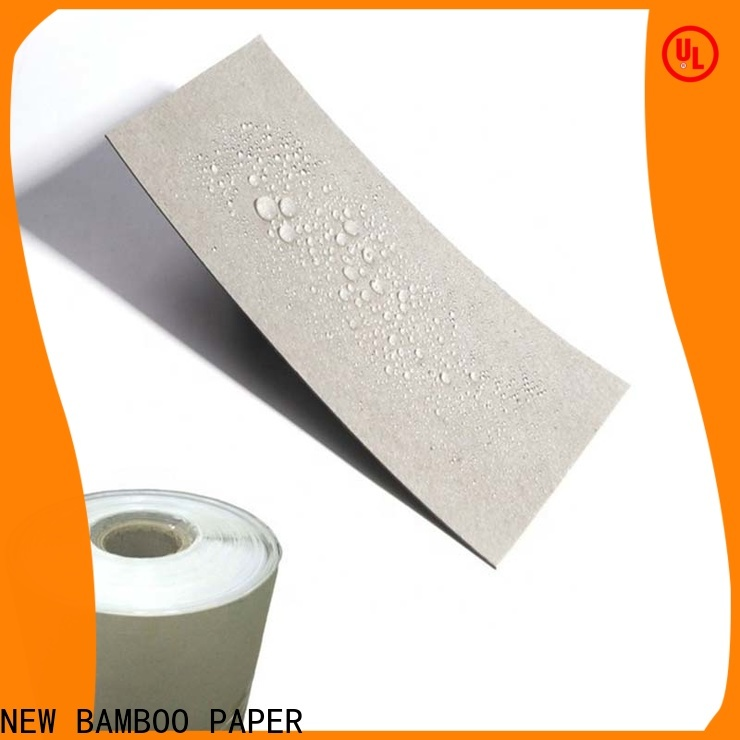 NEW BAMBOO PAPER board pe coated paper roll price free design for sheds packaging