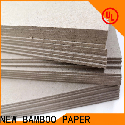 NEW BAMBOO PAPER reels grey paperboard bulk production for arch files