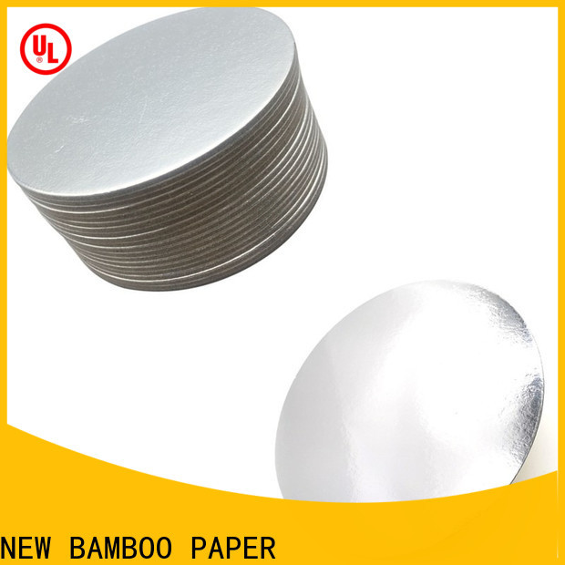 NEW BAMBOO PAPER inexpensive cake board rounds order now for stationery