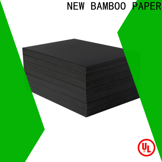 NEW BAMBOO PAPER paperboard black chipboard free design for photo album