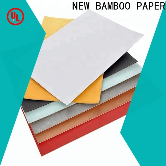 NEW BAMBOO PAPER back thick white cardboard sheets bulk production for toothpaste boxes