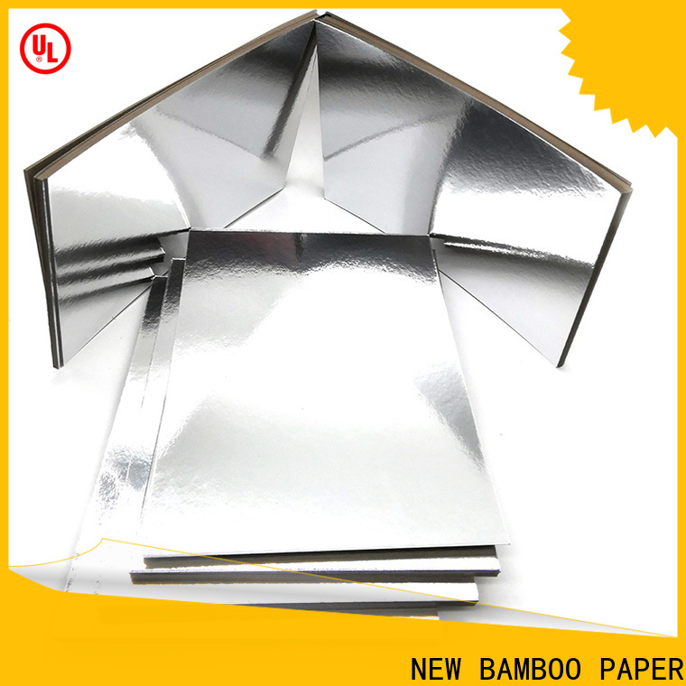 NEW BAMBOO PAPER fine- quality Cake Board supplier for wholesale for paper bags