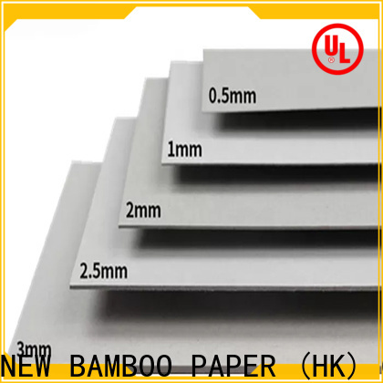 NEW BAMBOO PAPER newly straw board paper at discount for boxes