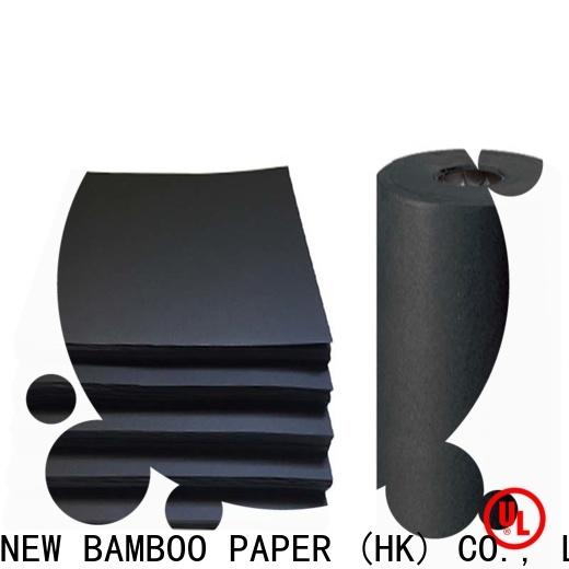 NEW BAMBOO PAPER excellent black chipboard sheets vendor for speaker gasket