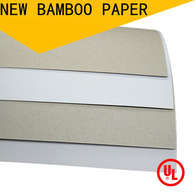 NEW BAMBOO PAPER board glossy cardstock paper free design for toothpaste boxes
