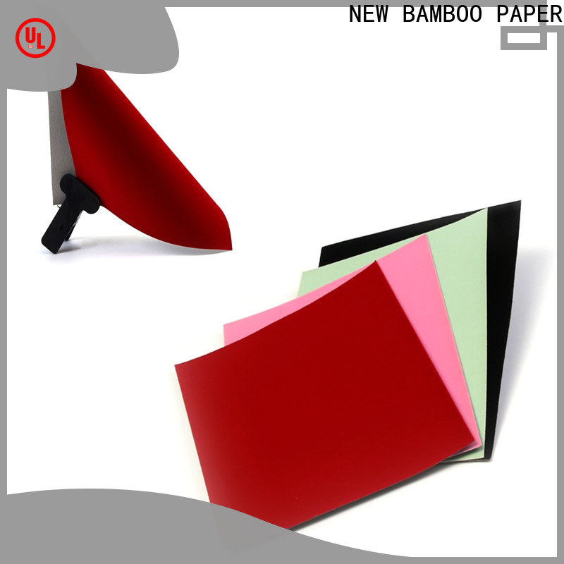 NEW BAMBOO PAPER flocked 400 gsm widely-use for crafts