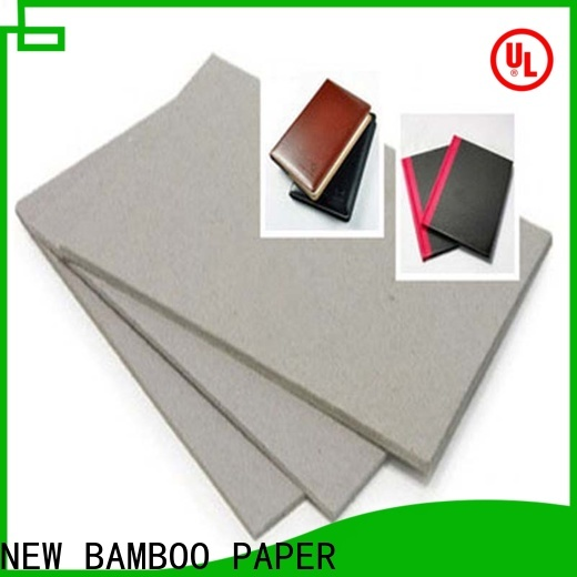 NEW BAMBOO PAPER cover 1 mm thick cardboard manufacturers for boxes