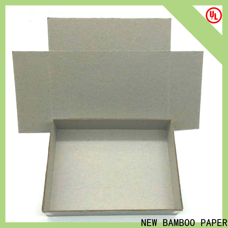 NEW BAMBOO PAPER boxes 1.3 mm paperboard company for T-shirt inserts