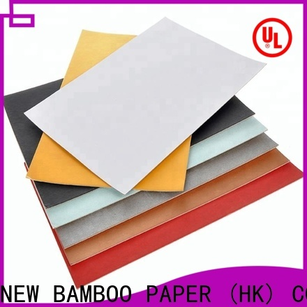 NEW BAMBOO PAPER wholesale 180 gsm paper bulk production for cereal boxes
