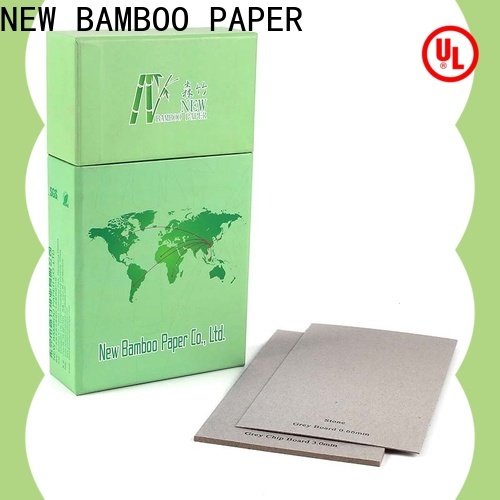 NEW BAMBOO PAPER first-rate 1.3 mm paperboard factory price for folder covers