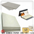 NEW BAMBOO PAPER curl c2s paper factory for book covers
