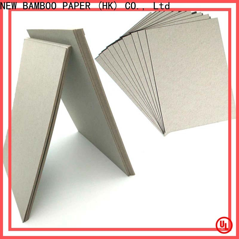 NEW BAMBOO PAPER professional pressed cardboard sheets for wholesale for packaging