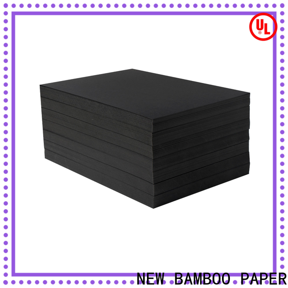 NEW BAMBOO PAPER safety glossy coated paper factory for hang tag