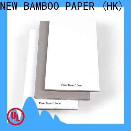 NEW BAMBOO PAPER fine- quality what is foam board factory for shirt accessories