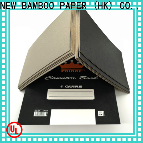 NEW BAMBOO PAPER nice black chipboard sheets suppliers for photo album