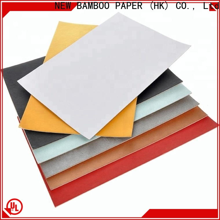 NEW BAMBOO PAPER board kraft paper sheets for printing for business for shoe boxes