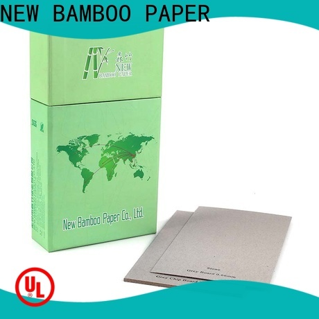 NEW BAMBOO PAPER anti grey board sheets factory for desk calendars