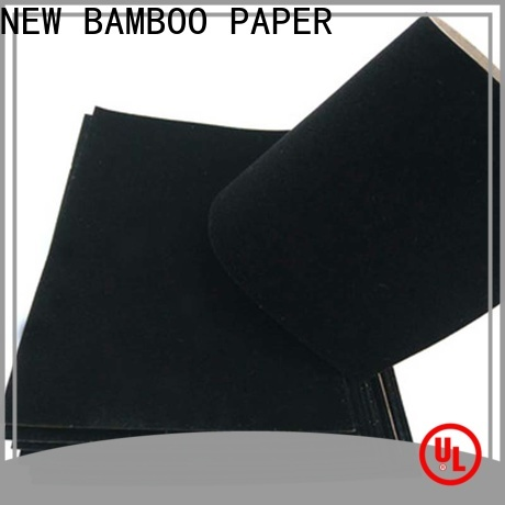 NEW BAMBOO PAPER fantastic  flocking sheet suppliers for packaging