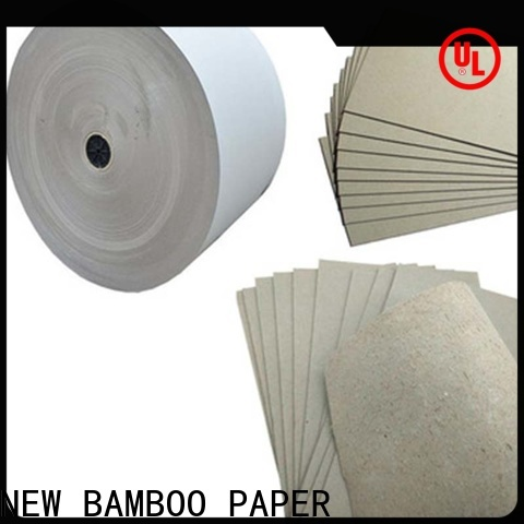 NEW BAMBOO PAPER raw solidboard inquire now for folder covers