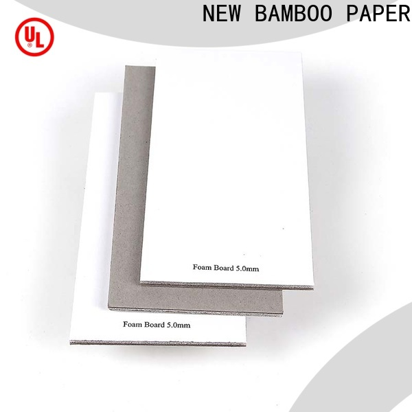 NEW BAMBOO PAPER solid foam grey board factory price for stationery
